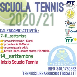 inizio scuola tennis 20-21